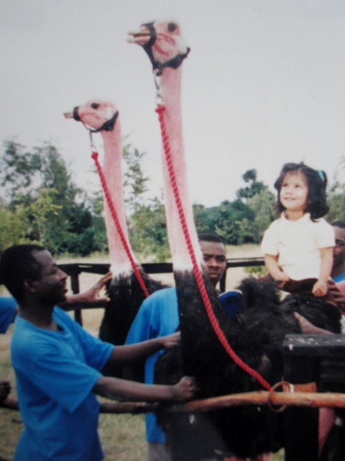 Ostrich-Riding in Kenya